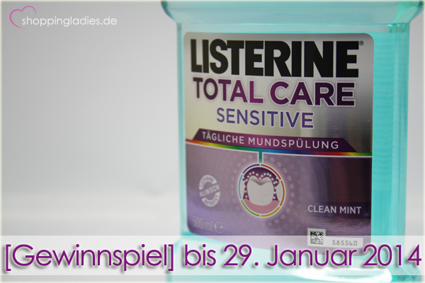 [Gewinnspiel] Listerine Total Care Sensitive