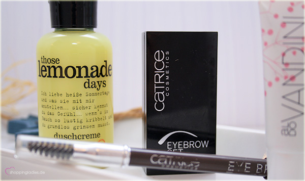 TOP5 Catrice Eye Brow, treaclemoon