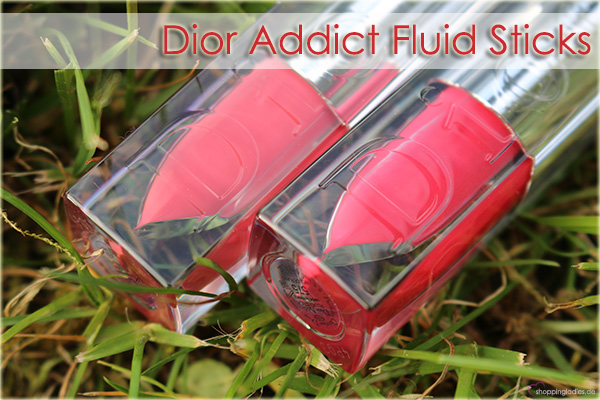 Dior Addict Fluid Stick - 373 Rieuse, 575 Wonderland