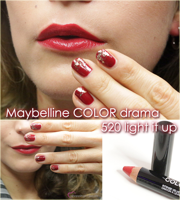 maybelline colordrama lightitup