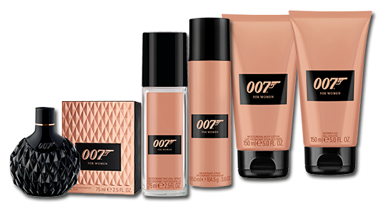 007 FOR WOMEN Sortiment